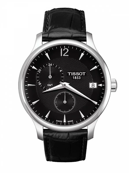 Часы Tissot Tradition Gmt T063.639.16.057.00 фото