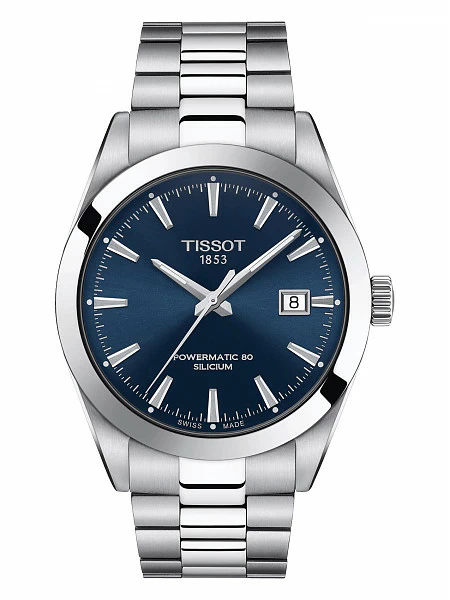 Часы Tissot Gentleman Powermatic 80 Silicium T127.407.11.041.00 фото