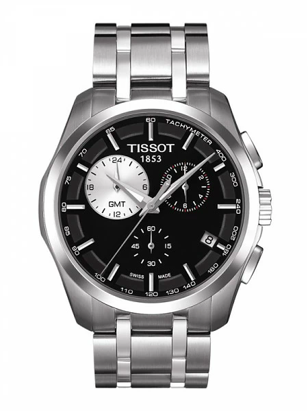 Часы Tissot Couturier Gmt T035.439.11.051.00 фото